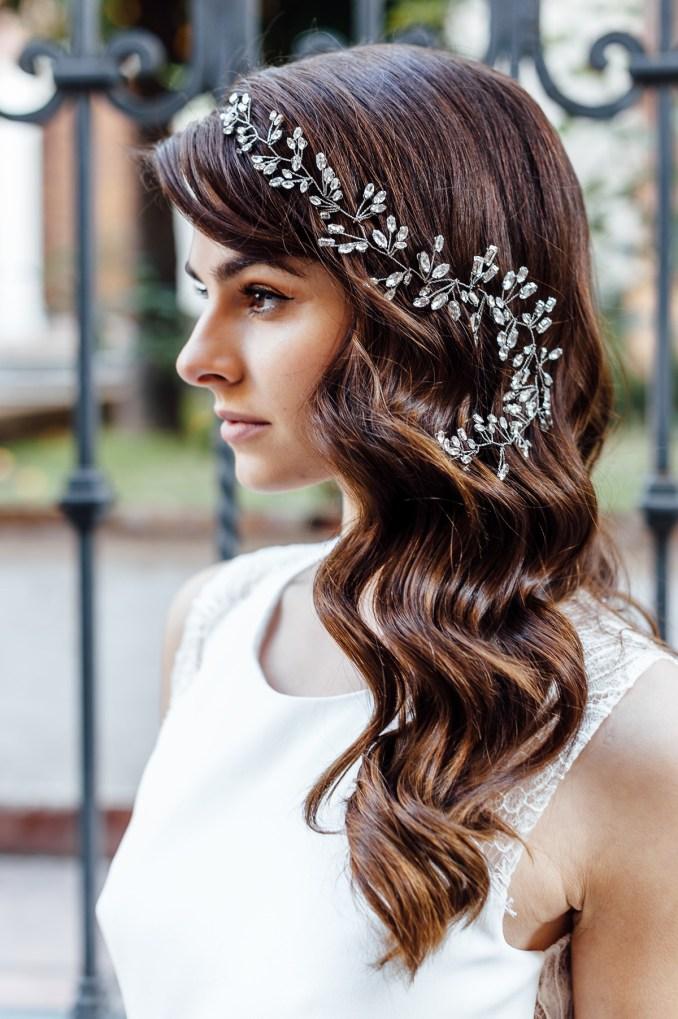 bridal hair vines | wedding hair accessories | by jodie bijoux