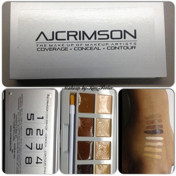 AJ Crimson Coverage Conceal Contour Palette