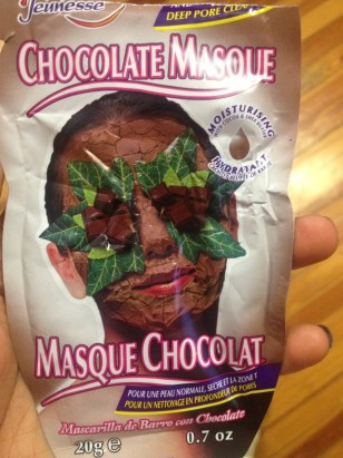 Montagne Jeunesse Chocolate Masque Packaging