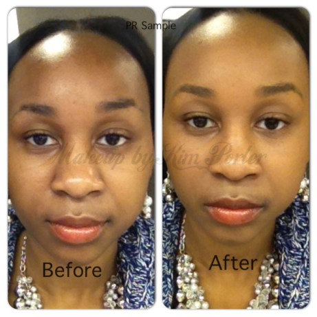 Garnier Miracle Skin Perfector Oil-Free B.B. Cream Deep  Before & After