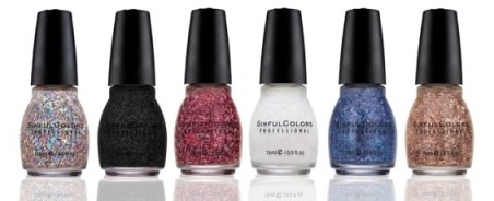 SINFULCOLORS HOLIDAY TINSEL Collection