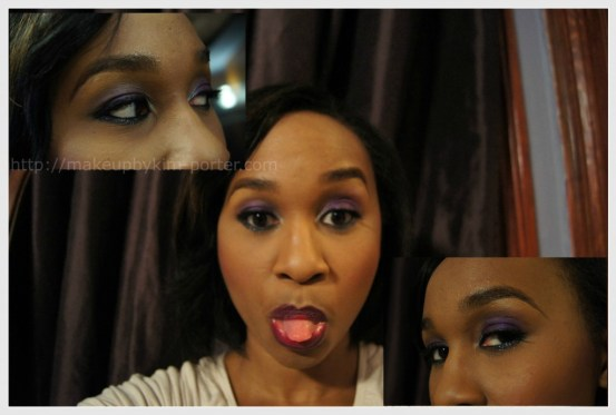 Purple Smoky Eye Combo