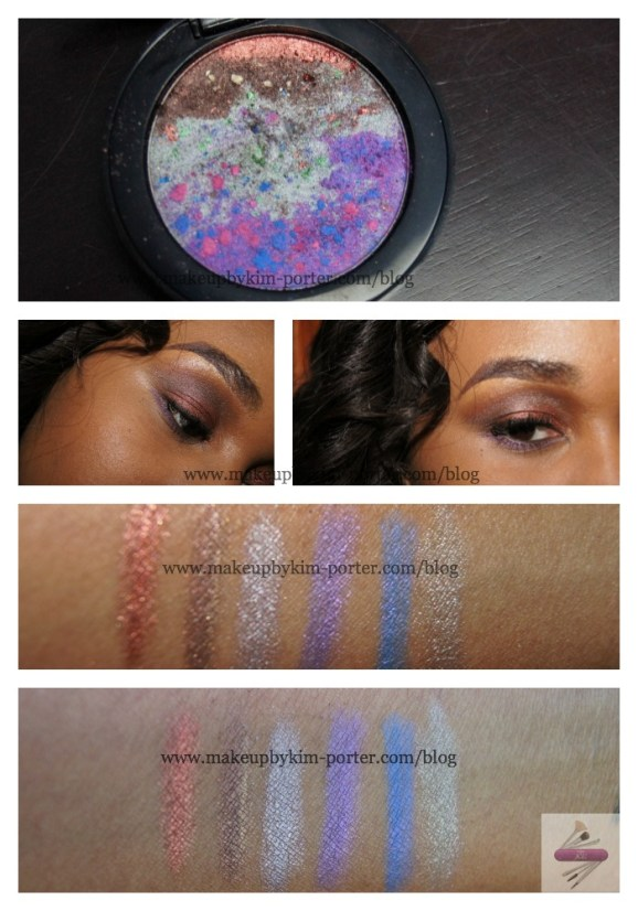 Vincent Longo Pearl X Eyeshadow Luna Beach Swatches