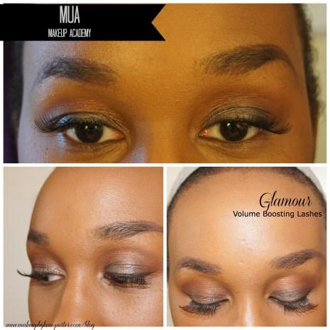 MUA Makeup Glamour Lashes