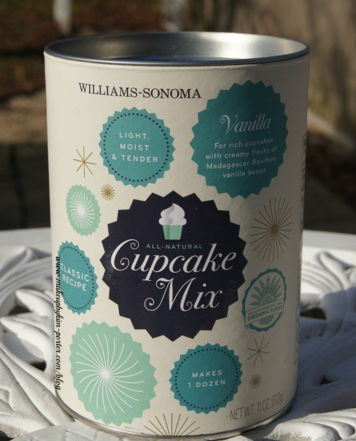 December 2014 POPSUGAR Must Have Box Wiilliams Sonoma Vanilla Bean Cupcake Mix