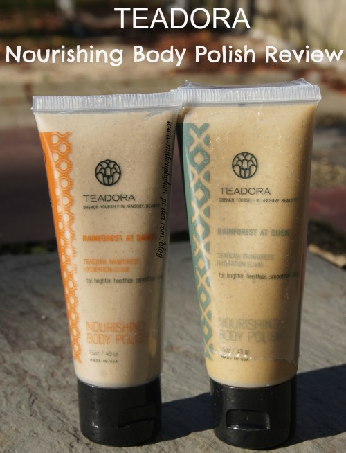 Teadora Nourishing Body Polish