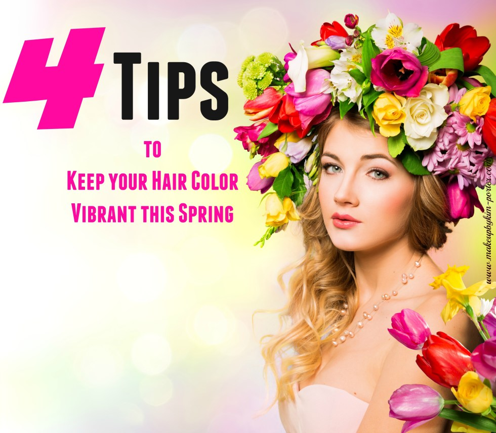 keep your hair color vibrant this spring