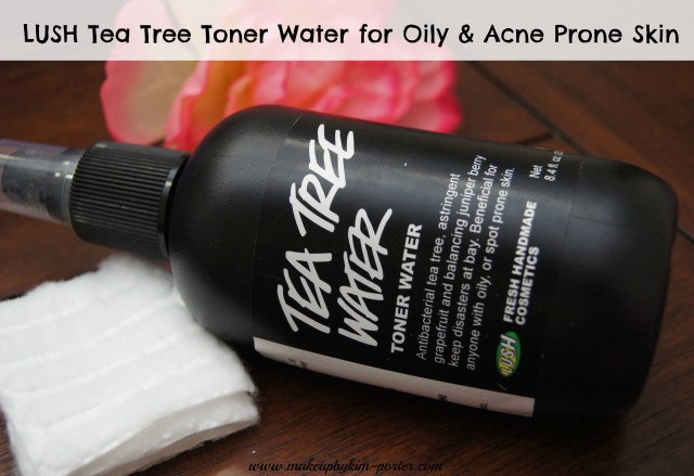 LUSH Tea Tree Oil Water Toner Review