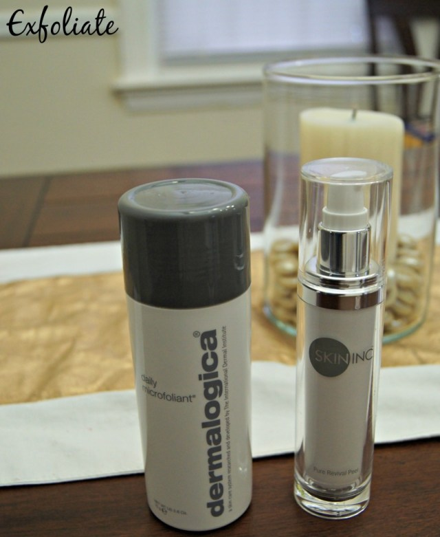 Spring Skincare Routine Exfoliate