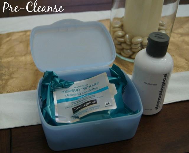 Spring Skincare Routine Precleanser