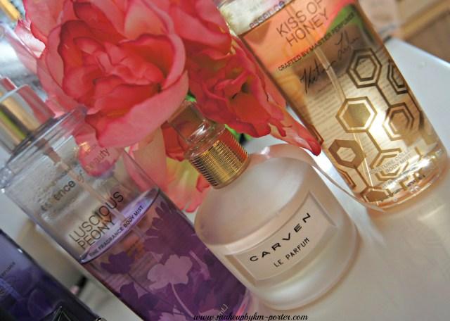 CARVEN Le Parfum pairings