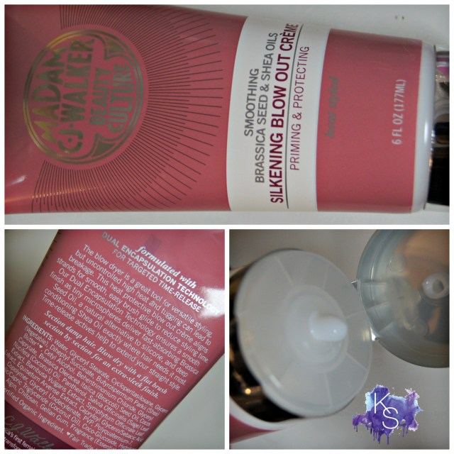 Madam C.J. Walker Beauty Culture Brassica Seed & Shea Oils Blow Out Creme