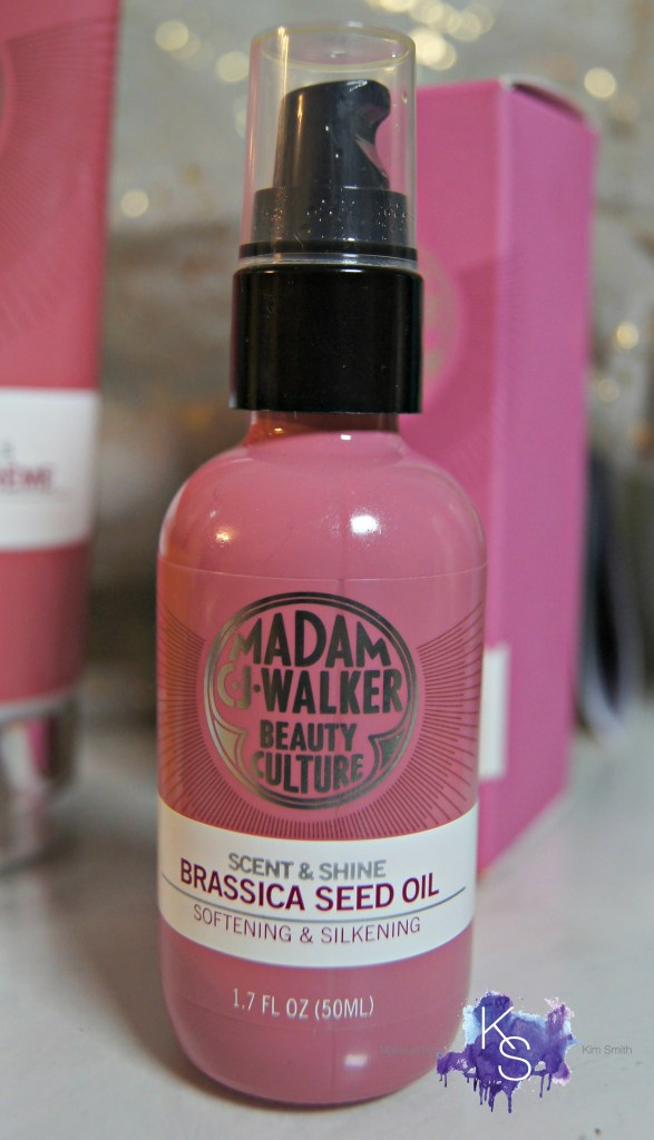 Madam C.J. Walker Beauty Culture Brassica Seed & Shea Oils Brassica Seed oil