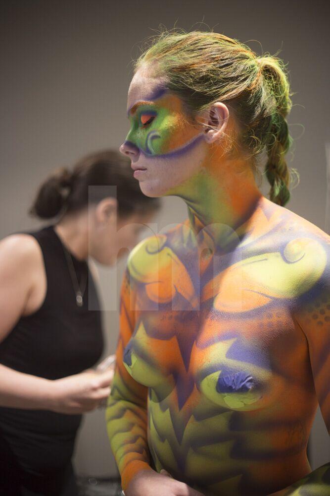 Sydney SFX makeup, Sydney makeup artist, bodypainting, Sydney hairstylist