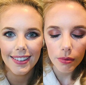 Keeping it fresh - bridal makeup