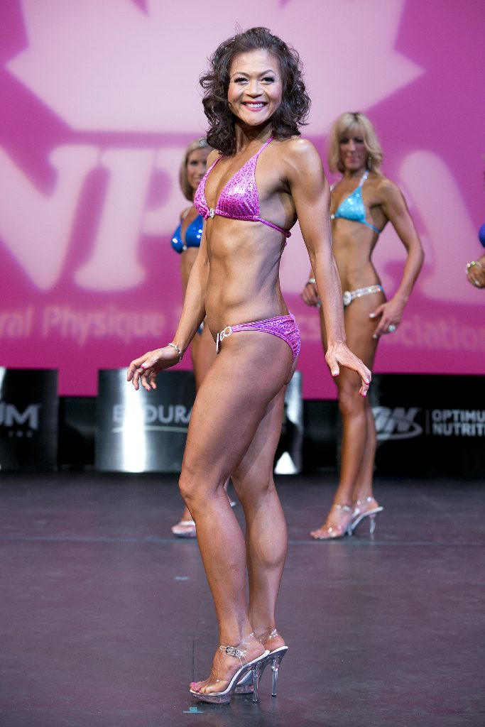 Fitness Competition Body Building Hair And Makeup