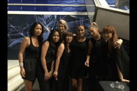 Nadine & MAC Makeup Artist Reunion