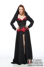 Castle Corsetry Halloween Shoot, Model: Abby Dark-Star Photographer: Greg De Stefano, Makeup: Me/Dawnielle Banks, Hair: Chrissy Lynn