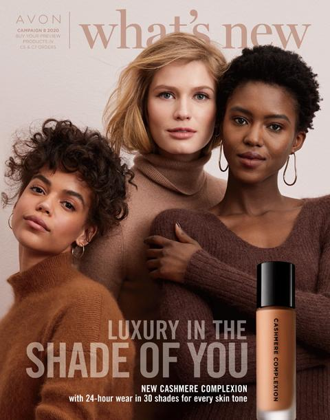 What's New Campaign 8 2020: Cashmere Complexion