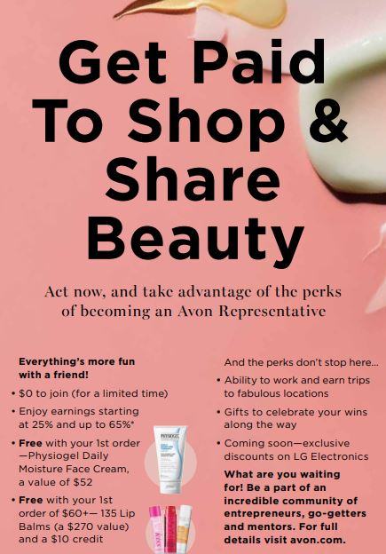 Start Your Avon Beauty Business FREE