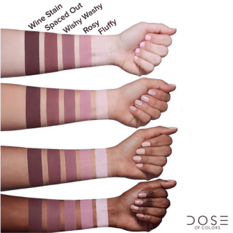 Dose of Colors Marvelous Mauves Swatches