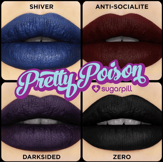 Sugarpill Pretty Poison Black Edition 1