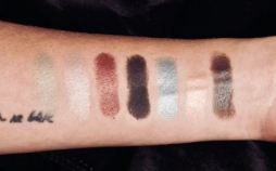 Lorac Cosmetics Pirates of the Caribbean Cursed Eye Palette Swatches