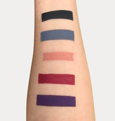Sola Look Dirty Dancing Palette Swatches