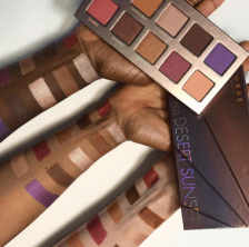 Lorac Unzipped desert Sunset Swatches