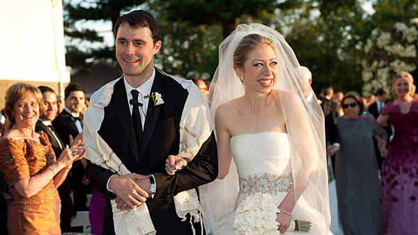 Chelsea Clinton's wedding day makeup