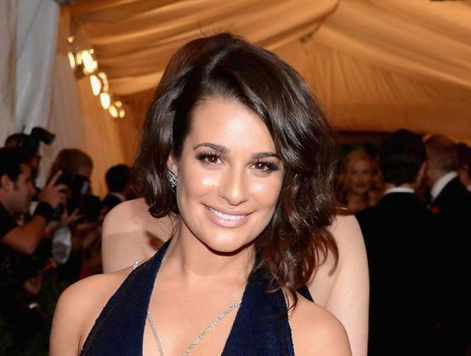 lea michele at the met gala
