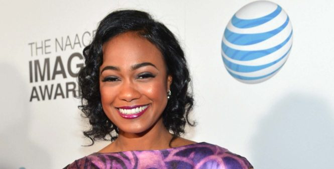 Tatyana Ali at the NAACP Image Awards