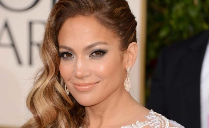 70th Annual Golden Globe Awards - Jennifer Lopez Makeup