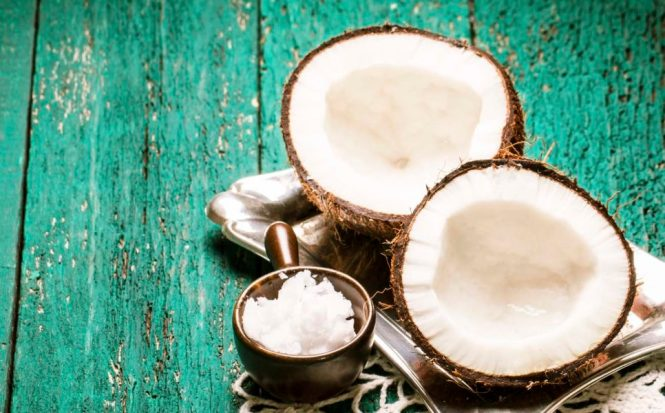 Coconut is restorative for dry hair and skin.
