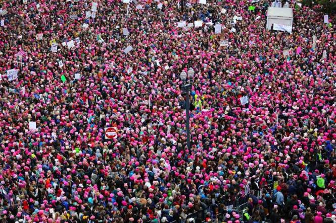 Women's March Exceeds Expectations