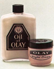 Girlfriend and Skincare Vintage Oil of Olay