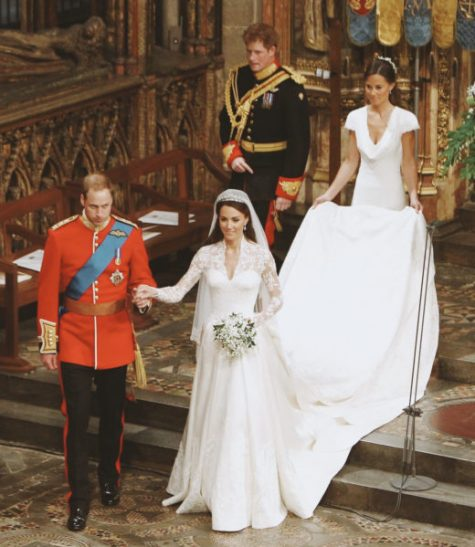 Boda real de príncipe Guillermo, Kate Middleton, el príncipe Harry y Pippa Middleton