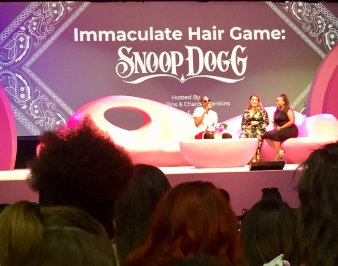Snoop Dogg Beautycon LA Hair Game