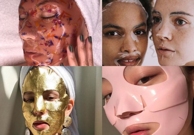 Sheet Masks for real life or Instagram