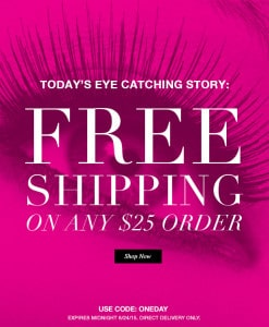 One Day Free Shipping