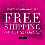 One Day Free Shipping!
