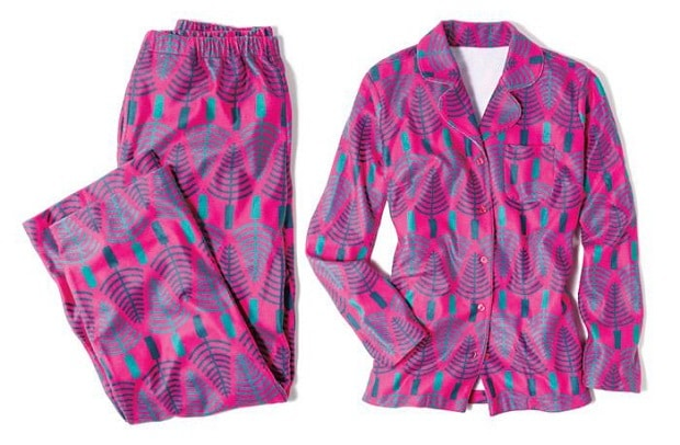 What's Hot? Avon Campaign 24 - Joyful Beautiful Tree Print Pajama Set