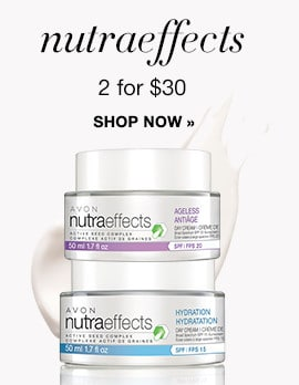 Avon nutraeffects – Get Any 2 for $30
