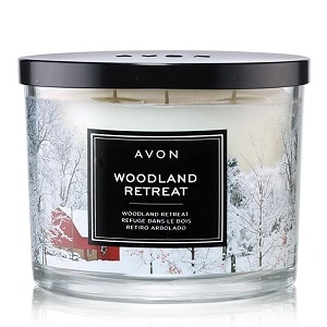 Woodland Retreat Scented Candle - Campaign 1, 2018