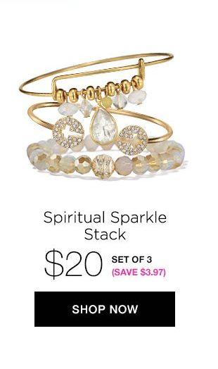 Spiritual Sparkle Stack - Jewelry Trend