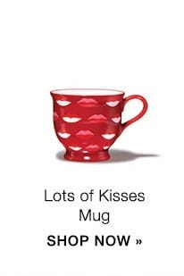 Lots of Kisses Mug - Valentine's Day