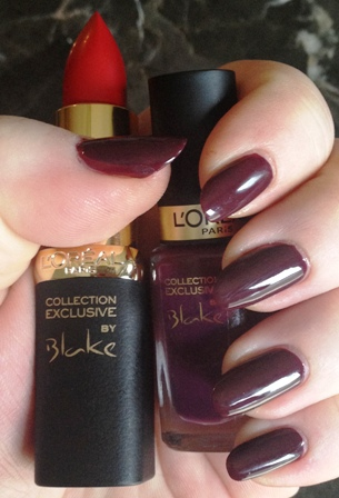 Blake S Pure Red Lipstick And Nail Polish Swatch