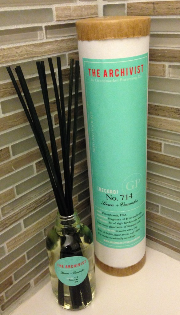 The Archivist Reed Diffuser Kit
