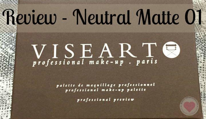 Viseart Neutral Matte Palette 01 review