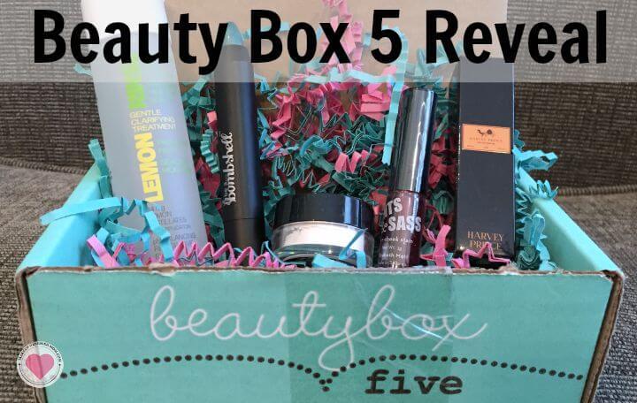 beauty box 5 subscription box